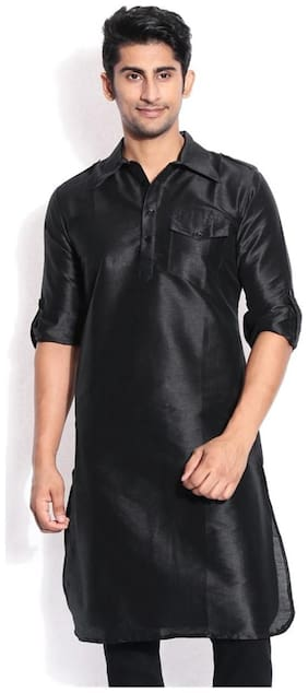 Royal Occassional Silk Blended Pathani Kurta's For Men