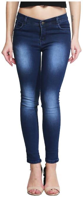 ROYCE TREND Women Blue Slim fit Jeans