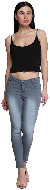 ROYCE TREND Women Grey Slim fit Jeans