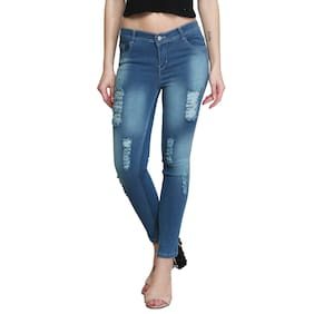 ROYCE TREND Women Blue Slim fit Jeans