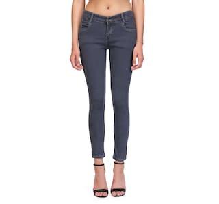 RPU Slim Women's Grey Jeans
