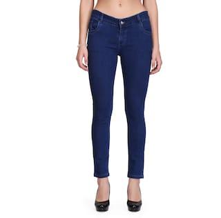 RPU Slim Women's Blue Jeans