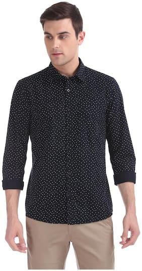Men Regular Fit Printed Formal Shirt ,Pack Of Pack Of 1