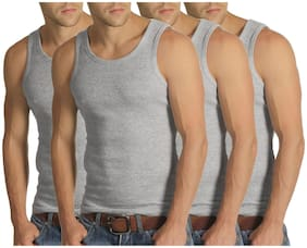 Cotton Gym Vest ,Pack Of 4