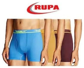 RUPA Hunk Trunks - Multi ,Pack of 3