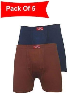 Men Spandex Solid Underwear