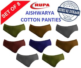 Cotton Solid Pack of 8
