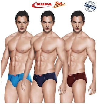 Rupa Briefs - Multi ,Pack of 3