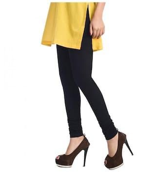 71d04b9cdcd58 Buy Rupa Softline Leggings Cotton Regular Churidar - Black Online at ...