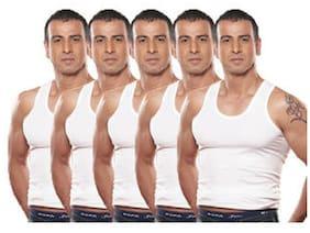 Rupa Jon Vest Pack Of 5 For Men