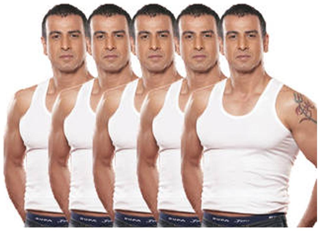 Rupa Jon Vest Pack Of 5 For Men by Kuku Ki Dukaan