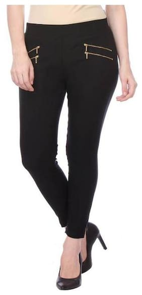 Women Straight Fit Jegging Pack Of 1