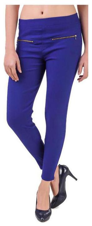 RZLECORT Women Blue Straight fit Jegging