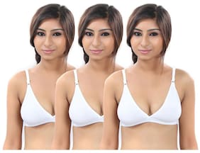 c087bce318 Buy S4S Cotton Push-up Bra - White Online at Low Prices in India -  Paytmmall.com