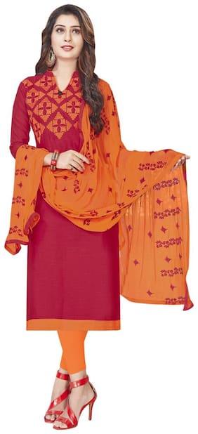 Women Blended Dress Material Pack of 1