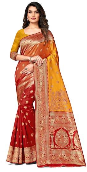 Artificial Silk Banarasi Saree