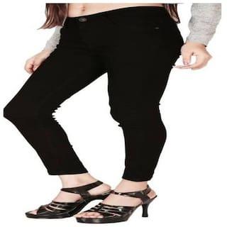 Sajani Slim Women's Ankle Length Black Jeans