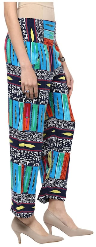 Printed Sakhi Trousers Multi Sang color Uww64Rq