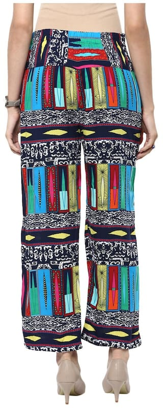 Sang Printed Multi color Sakhi Trousers 4FqSWdx