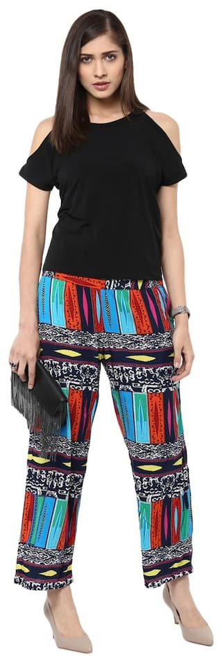 Sakhi Trousers Multi Printed Sang color x4w1z6q