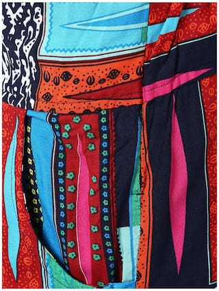 color Multi Sang Sakhi Printed Trousers SwaExEq5n4