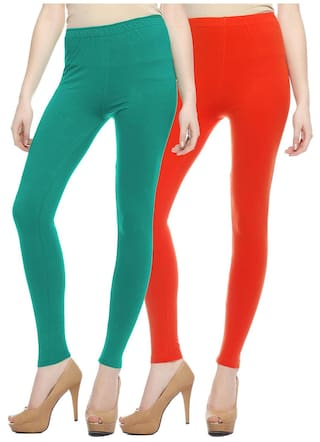 Of 2 Sang Multi Color Sakhi Cotton Pack Leggings w1Zq7AvAx