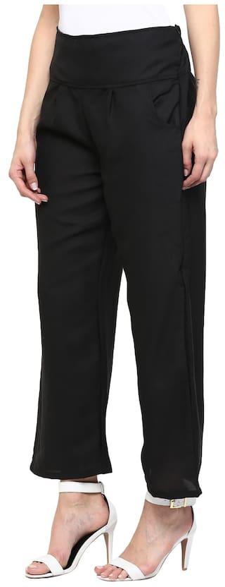 Solid Sakhi Sang Sakhi Trouser Blck Solid Blck Sang Trouser rwrgpYxq