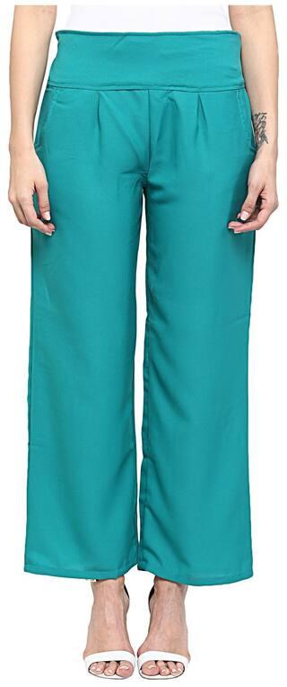 Green Sakhi Solid Sakhi Trousers Sang Sang PIYxdxF