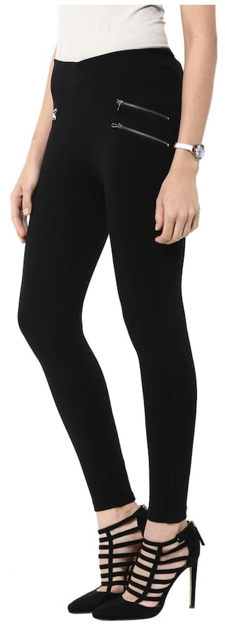 Solid Black Black Jeggings Sang Jeggings Sakhi Sakhi Sakhi Sang Jeggings Solid Sakhi Sang Solid Sang Solid Black qCATwEC