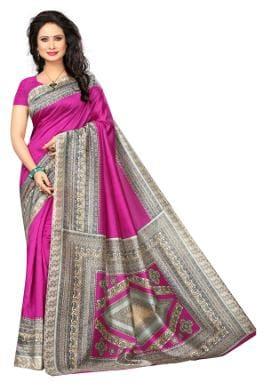 Silk Kalamkari Saree