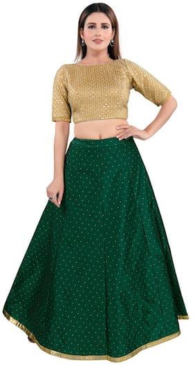 Polka Dots Ethnic Skirt Pack of 1