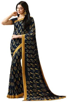 Georgette Bangalori Saree