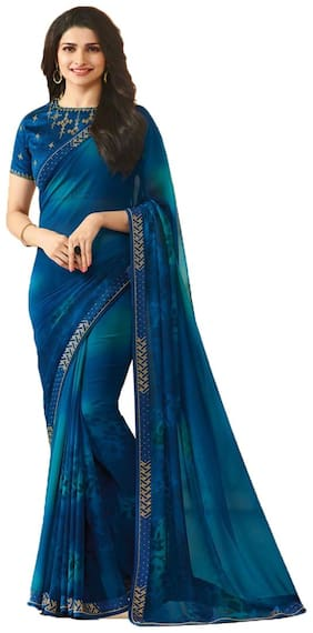 Georgette Bollywood Saree ,Pack Of 1