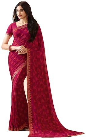 Georgette Bangalori Saree