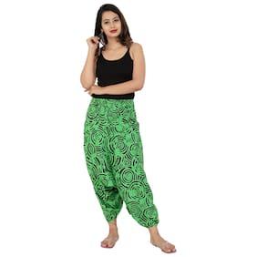 SANGAKURTI Women Harem Pants - Green