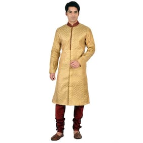 Sanwara Gold Banarasi Kurta Pyjama