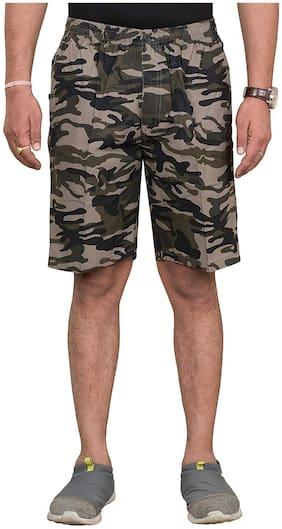 Sapper Men Multi Regular Fit Regular Shorts