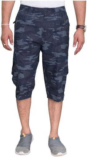 Sapper Men Multi Regular Fit Regular Shorts