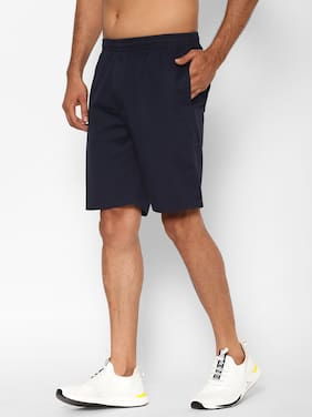 Sapper Men Navy Blue Regular Fit Regular Shorts