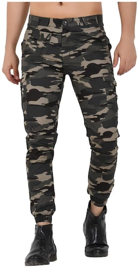 Men Slim Fit Cargos