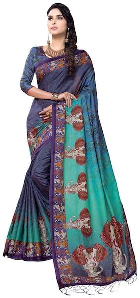 Silk Bhagalpuri Saree