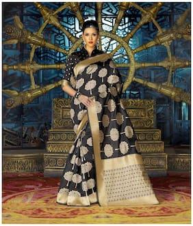 Silk Banarasi Saree ,Pack Of 1