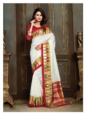 Silk Patola Saree ,Pack Of 1