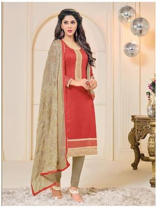988b32dc4b Buy Sareemall Cotton Printed Dress Material for Kurta - Multi Online ...