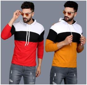 Men Colorblocked Sweatshirt