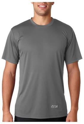Scott International Men Grey Regular fit Polyester Round neck T-Shirt - Pack Of 1