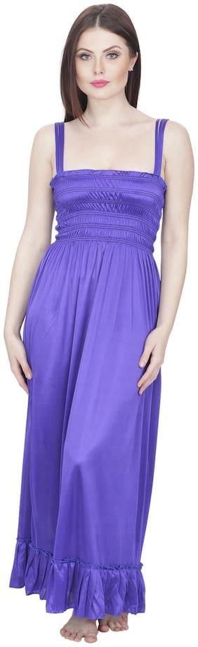 Secret Wish Purple Night Gown