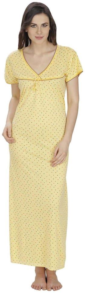 Secret Wish Yellow Night Gown