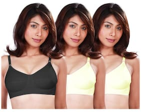 a7e6a093d4 Selfcare Set Of 3 G.g. Women s Full Coverage Bras