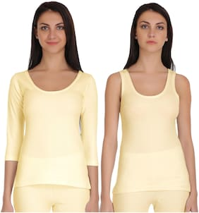 Selfcare Winter Collection Women Skin Tops Thermal